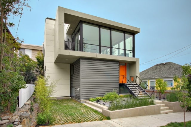 Modern house-simple elegan